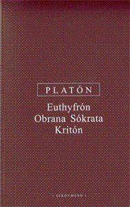 Platón: Euthyfrón, Obrana Sókrata, Kritón cena od 110 Kč