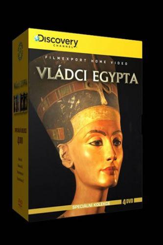 Vládci Egypta - Speciální kolekce - 4DVD cena od 170 Kč