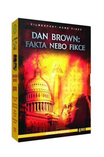 Dan Brown: Fakta a fikce - Speciální kolekce - 4DVD cena od 132 Kč