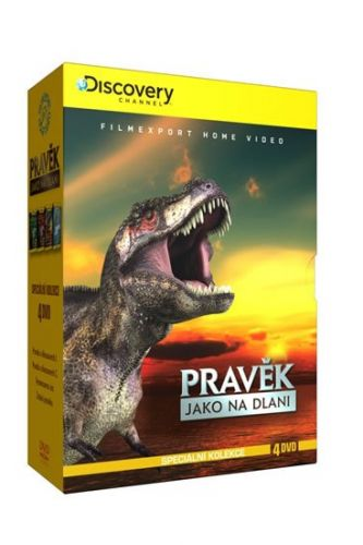 Pravěk jako na dlani - Speciální kolekce - 4DVD digipack cena od 132 Kč