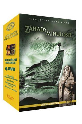 Záhady minulosti - Speciální kolekce - 4DVD cena od 136 Kč