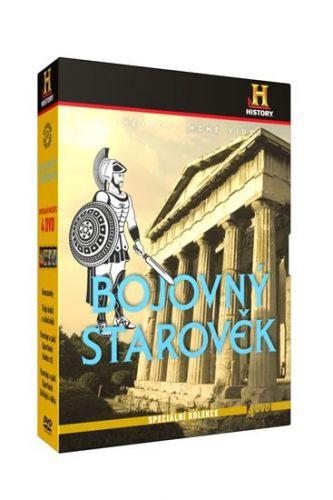Bojovný starověk - Speciální kolekce - 4DVD cena od 136 Kč