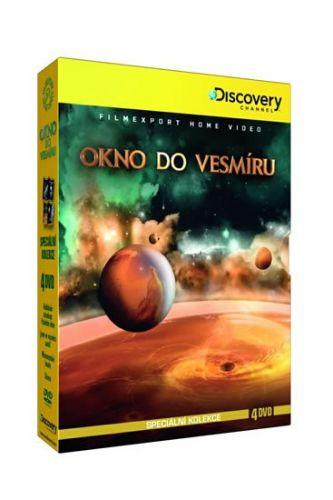 Okno do vesmíru - Speciální kolekce - 4DVD cena od 168 Kč
