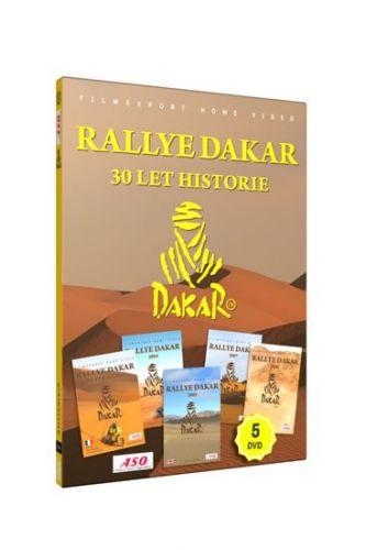 Rallye Dakar - 30 let historie - 5 DVD cena od 49 Kč