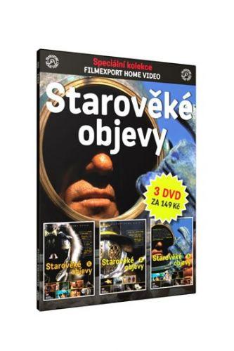 Starověké objevy – 3 DVD cena od 102 Kč