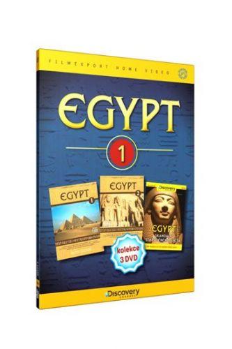 Egypt 1 – 3 DVD cena od 124 Kč