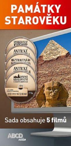 Památky starověku - 5DVD cena od 161 Kč