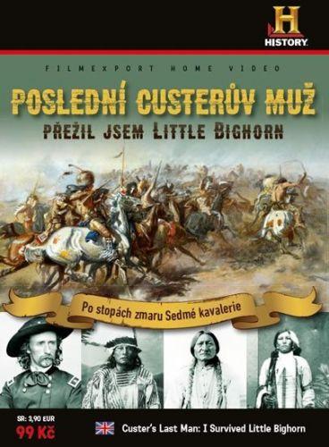 Poslední Custerův muž - Přežil jsem Little Bighorn - DVD cena od 36 Kč