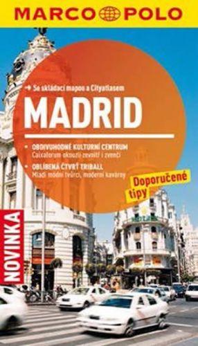 Madrid - Průvodce se skládací mapou cena od 149 Kč