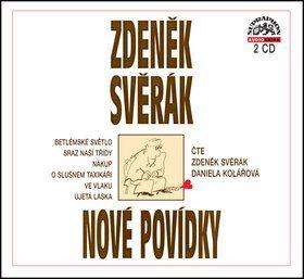 Zdeněk Svěrák: Zdeněk Svěrák Nové povídky CD cena od 221 Kč