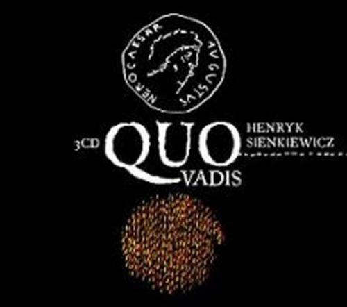 Henryk Sienkiewicz: Quo vadis - 3 CD cena od 213 Kč