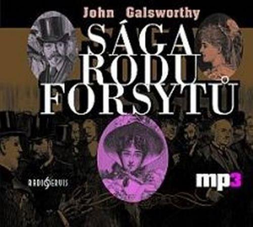 John Galsworthy: Sága rodu Forsytů - CD mp3 cena od 213 Kč
