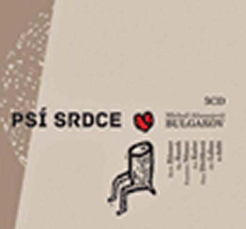 Michail Afanasjevič Bulgakov: Psí srdce - 3CD cena od 213 Kč