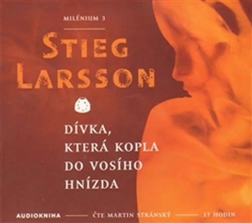 Stieg Larsson: Dívka, která kopla do vosího hnízda - Milénium 3 - 2CD mp3 cena od 246 Kč