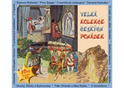 Various - Velká kolekce českých pohádek - 10CD cena od 0 Kč