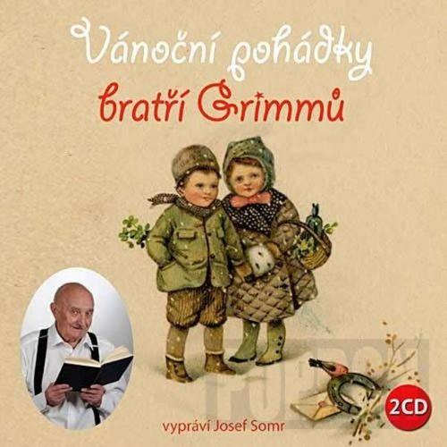 CD Vánoční pohádky bratří Grimmů - 2CD (čte Josef Somr) cena od 137 Kč
