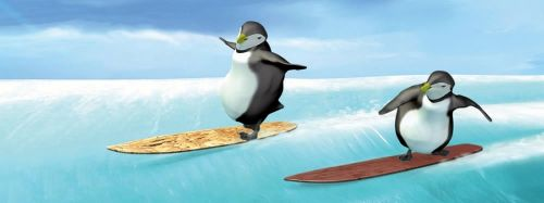 ABC Develop Záložka - Úžaska - Tučňáci na snowboardu cena od 70 Kč