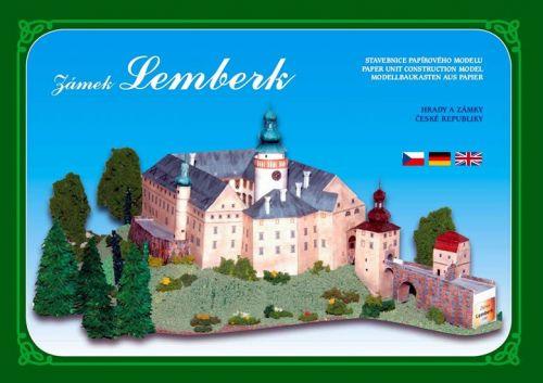Ivan Zadražil Zámek Lemberk - Stavebnice papírového modelu cena od 86 Kč