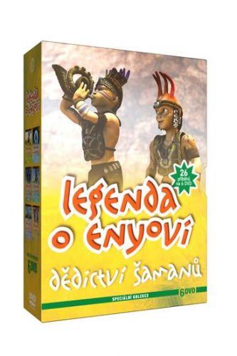 Legenda o Enyovi - Dědictví šamanů - 6DVD slim cena od 399 Kč