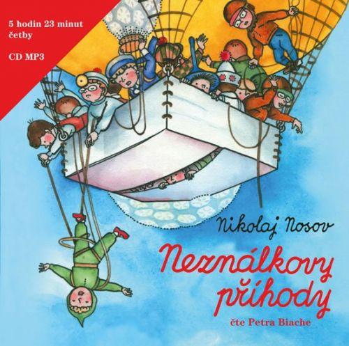 Nikolaj Nikolajevič Nosov: Neználkovy příhody - CD cena od 250 Kč
