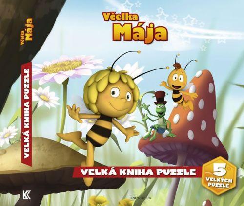 Včelka Mája Velká kniha puzzle cena od 159 Kč