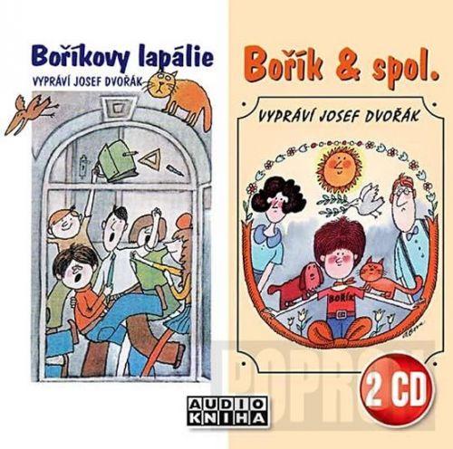 Vojtěch Steklač: Boříkovy lapálie + Bořík & spol. - 2CD (Josef Dvořák) cena od 133 Kč