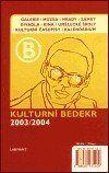 Kulturní bedekr 2003/2004 cena od 174 Kč