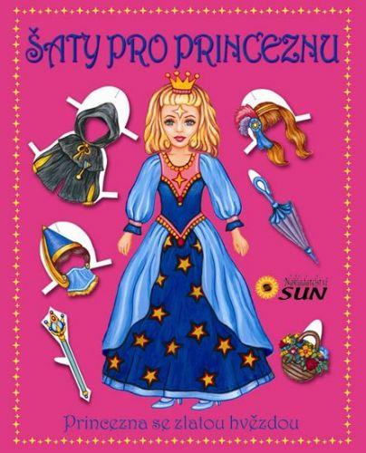 SUN Šaty pro princeznu - Princezna se zlatou hvězdou cena od 70 Kč