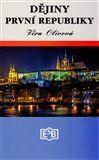 Věra Olivová: Dějiny první republiky cena od 218 Kč