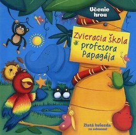 Brenda Apsley: Zvieracia škola profesora Papagája cena od 181 Kč