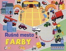 Tom James: Rušné mesto Farby cena od 139 Kč