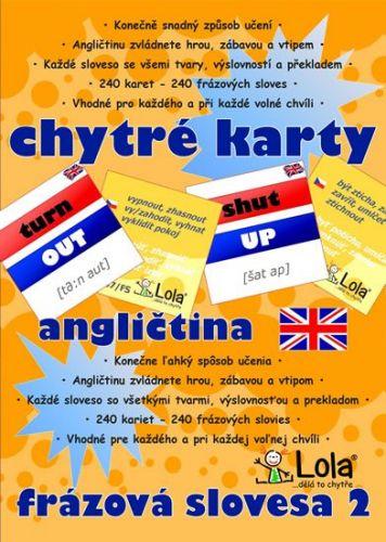 Chytré karty - Angličtina frázová slovesa 2 cena od 96 Kč