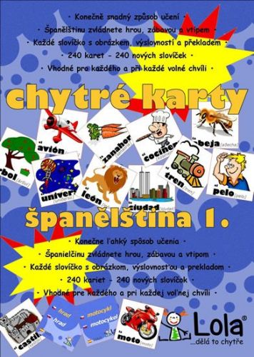 Chytré karty - Španělština slovíčka 1 cena od 99 Kč