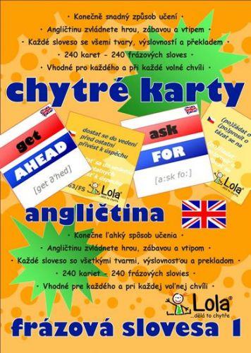 Chytré karty - Angličtina frázová slovesa 1 cena od 97 Kč