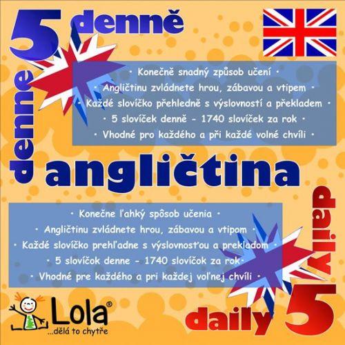 Chytré karty - Anglličtina výukový kalendář cena od 173 Kč