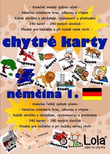Chytré karty - Němčina slovíčka 1 cena od 96 Kč