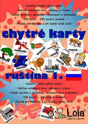 Chytré karty - Ruština slovíčka 1 cena od 107 Kč