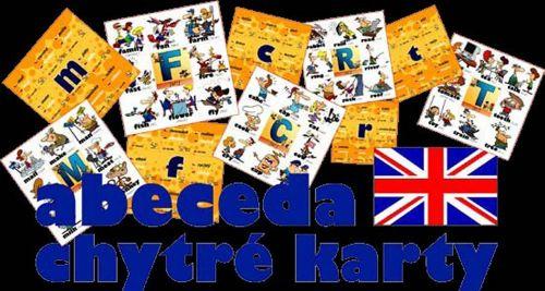 Chytré karty - Angličtina abeceda cena od 107 Kč