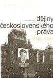 Dějiny československého práva 1945-1989 cena od 396 Kč