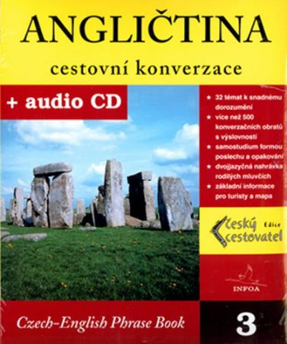 Kolektiv autorů: Angličtina cestovní konverzace + CD cena od 155 Kč
