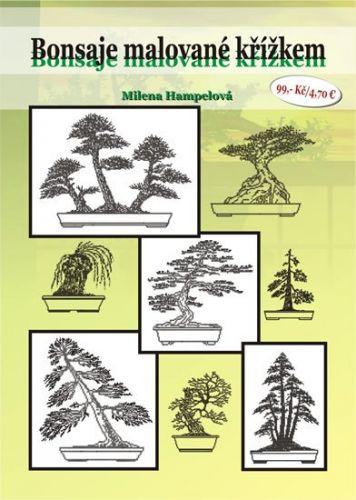 Milena Hampelová: Romantické kytice v křížkové výšivce cena od 63 Kč