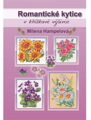 Romantické kytice v křížkové výšivce cena od 186 Kč