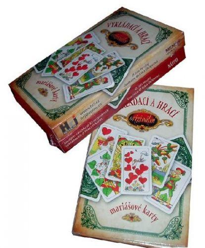 Jan Hrubý: Vykládací a hrací karty-karet.sada+návod