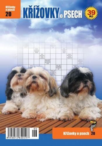 Křížovky O psech cena od 0 Kč