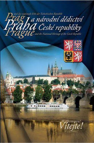 Praha a národní dedictví České republiky (mutace ČJ, AJ, NJ) cena od 250 Kč