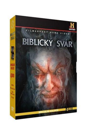 Biblický svár - Speciální kolekce - 4DVD cena od 147 Kč