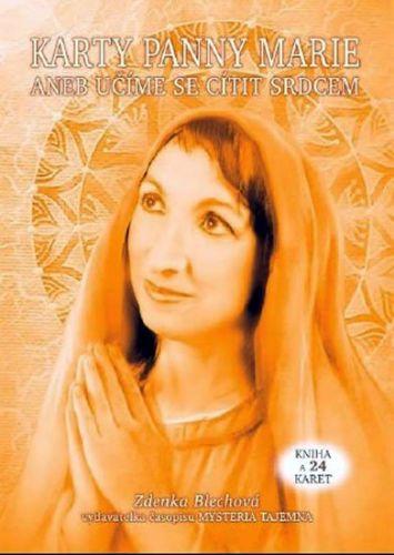 Zdenka Blechová: Karty Panny Marie (kniha + 24 karet) cena od 348 Kč
