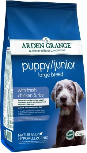 Arden Grange Puppy Junior Large Breed 2 kg cena od 228 Kč