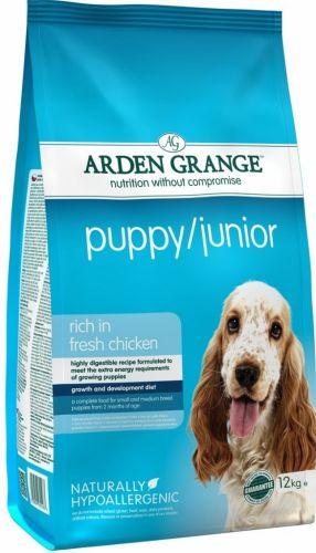Arden Grange Puppy Junior 2 kg cena od 341 Kč