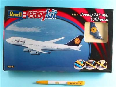Revell Boening 747 Lufthansa 06641 cena od 363 Kč